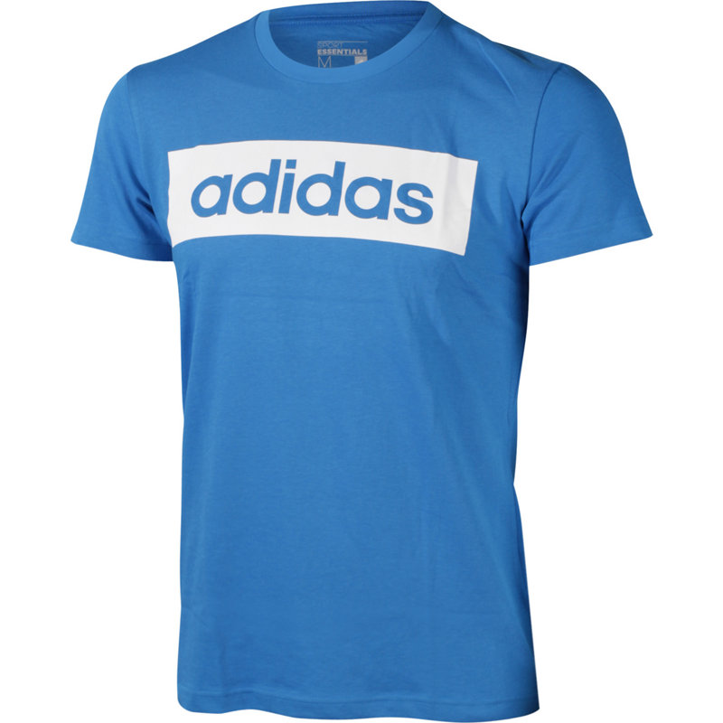 adidas ESSENTIALS LINEAR TEE - Herren Sport Shirts & Tops