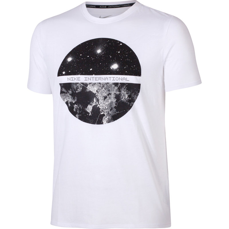 Nike INTERNATIONAL SATELLITE TEE - Herren Shirts & Tops