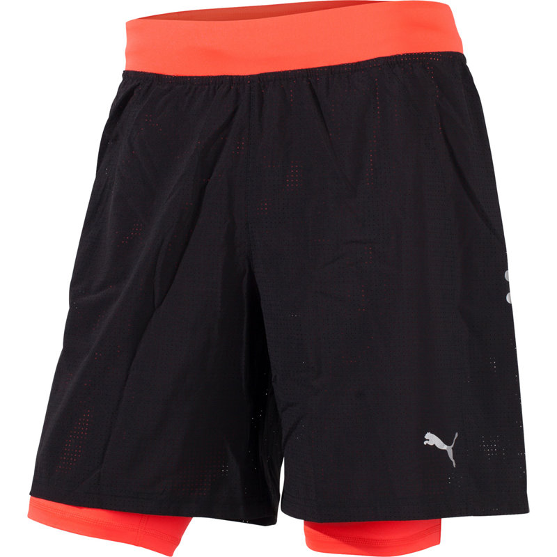 Puma FASTER THAN YOU 2 IN 1 SHORT - Herren Laufhosen