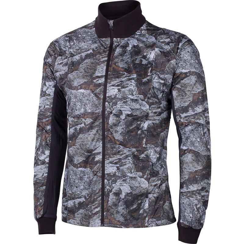 newline IMOTION PRINTED CROSS JACKET - Herren Laufjacken & -westen