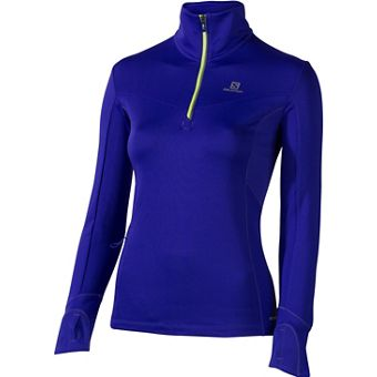 Salomon TRAIL WARM MIDLAYER - Damen Laufshirts