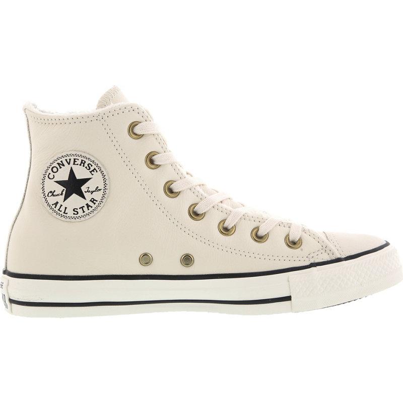 Converse CHUCK TAYLOR ALL STAR LEATHER FUR HI - Damen Sneaker jetztbilligerkaufen