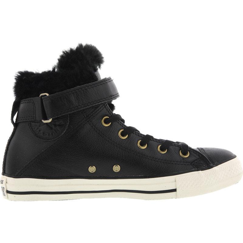 Converse CHUCK TAYLOR ALL STAR BREA LEATHER FUR HI - Damen Sneaker jetztbilligerkaufen