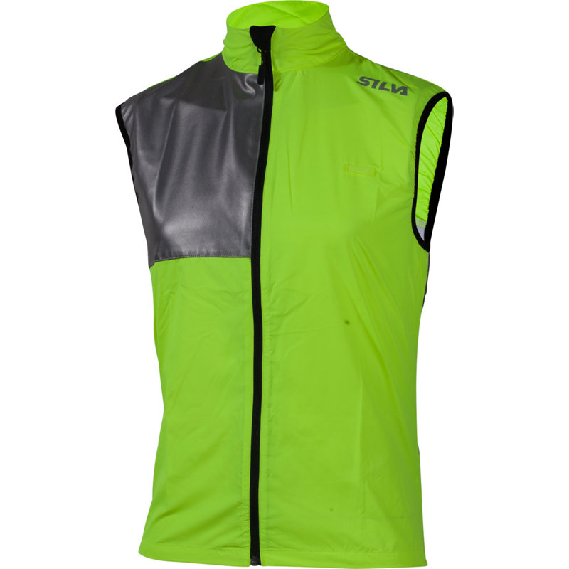 Silva PERFORM VEST YELLOW - Herren Laufjacken & -westen