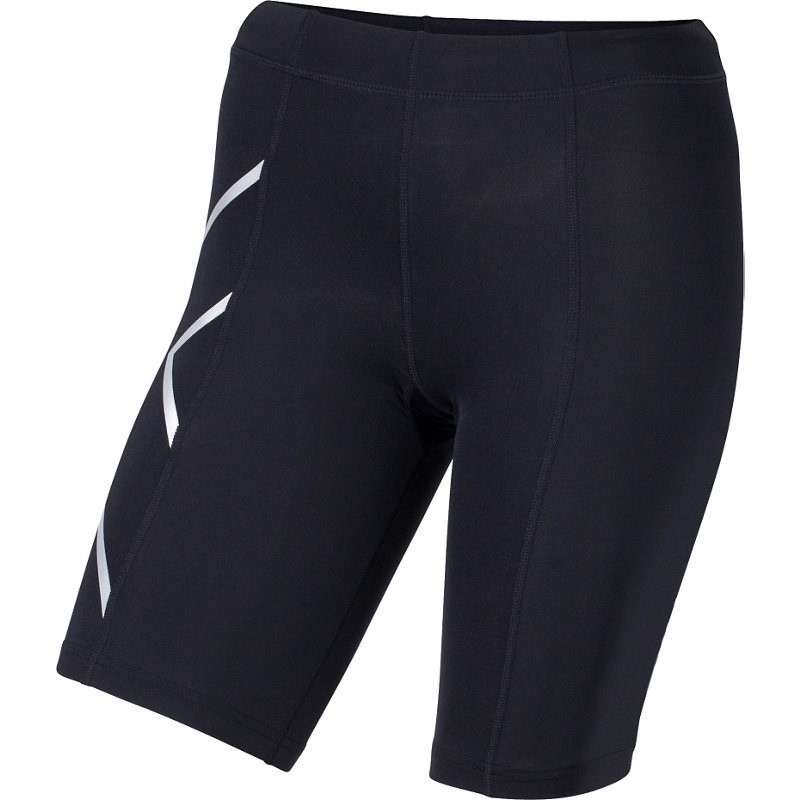 2XU TR2 COMPRESSION SHORT - Damen Laufhosen - broschei
