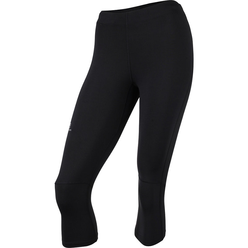 Salomon AGILE 3/4 TIGHT - Damen Laufhosen - broschei